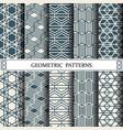 hexagon geometric patternpattern fills web vector image