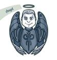 Sticker Angel vector image