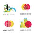city logo2 vector image vector image