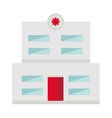 Hospital building high detailed vector image