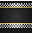 Metallic sheet vector image vector image