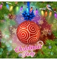 Christmas Party design template EPS 10 vector image