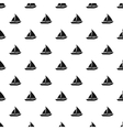 Sailing yacht pattern simple style vector image