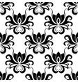 Dainty floral seamless pattern with bold flowers vector image vector image