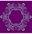 elegant design element vector image vector image