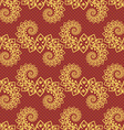Seamless ornament pattern tile vector image