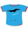 plane T-shirt Design vector image vector image