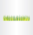 green grass background design element vector image