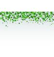 st patricks day horizontal background vector image