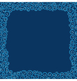 Background with elements in blue tones vector image
