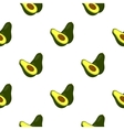 Avocado icon cartoon Singe fruit icon vector image