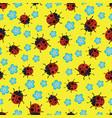 ladybirds pattern-01 vector image