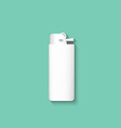 lighters Lighter isolated on a green background vector image