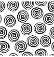 spiral twirl pattern seamless vector image vector image