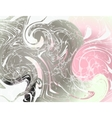Marble Pattern Pink vector image