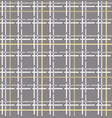 tartan seamless pattern checkered fabric texture vector image