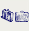 Suitcase Travel vector image vector image