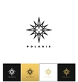 Abstract space star logo icon vector image vector image