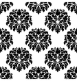 Floral seamless arabesque damask pattern vector image vector image