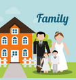 family home wedding new house image vector image