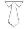 executive tie fashion vector image
