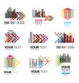city logo5 vector image vector image