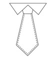 executive tie fashion vector image