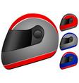race helmet vector image