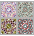 Set of Seamless oriental pattern vector image