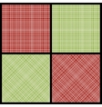 Set of seamless hatch patterns vector image