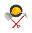 construction tools equipment icon vector image
