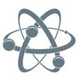 icon of atom vector image vector image