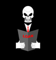 Death in Office suit with a loan Your personal vector image
