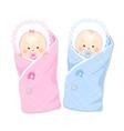 Newborns vector image
