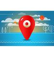 Travel Travel destination concept vector image