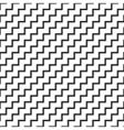 Simple geometric seamless pattern vector image vector image