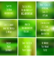 blurred adventure inspiration set motivtional vector image