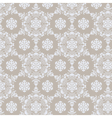 Lace ornament pattern background vector image