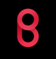 Logo templates of letter B logotype letter B vector image