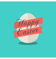Happy Easter egg icon vector image
