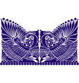 russian ornament folklore ornament wit vector image