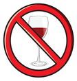 No alkohol vector image