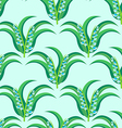 may-lily seamless pattern vector image