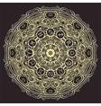 mandala and zodiac circle with horoscope signs vector image