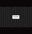 razor blade pattern