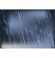 rain vector image