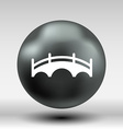 bridge icon button logo symbol concept vector image