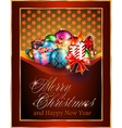 Christmas Greetings vector image