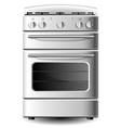 Kitchen stove vector image