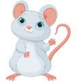 adorable mice vector image